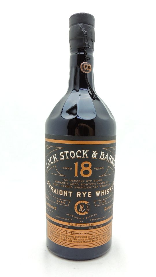 Lock Stock & Barrel 18 Year Whiskey