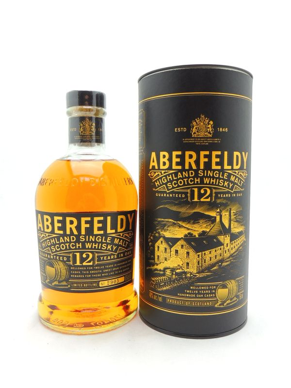 Aberfeldy 12 Year Old Scotch