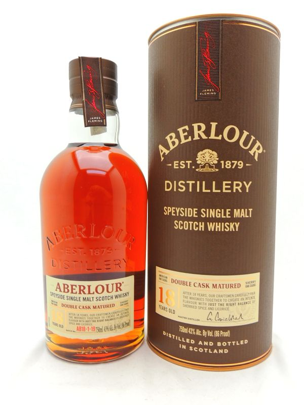 Aberlour 18 Year Old Scotch