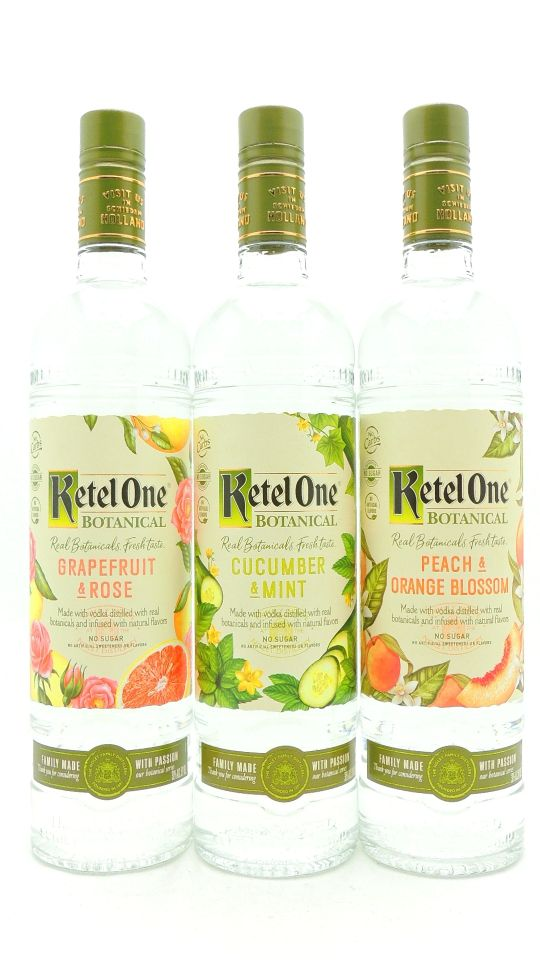 Ketel One Botanical Gift Set