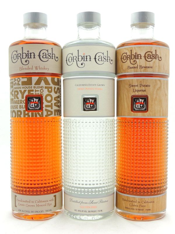 Corbin Cash Distillery Gift Set