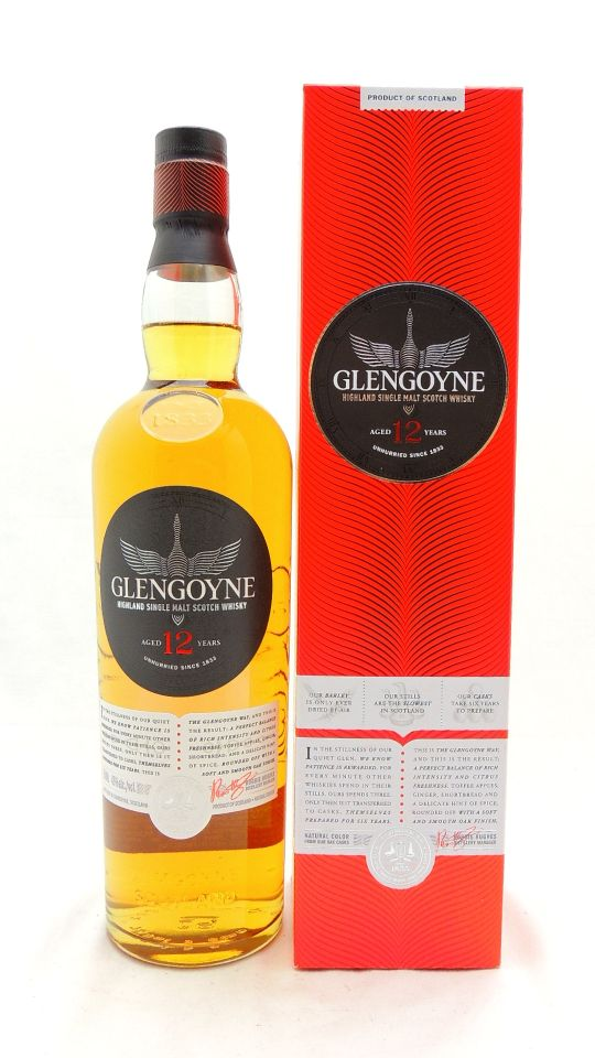 Glengoyne 12 Year Old Scotch