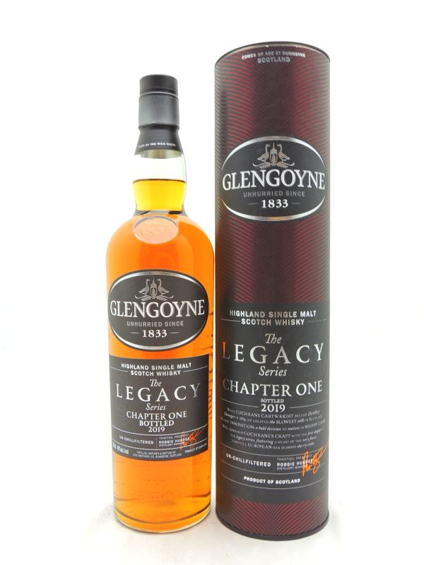 Glengoyne Legacy Chapter One Scotch