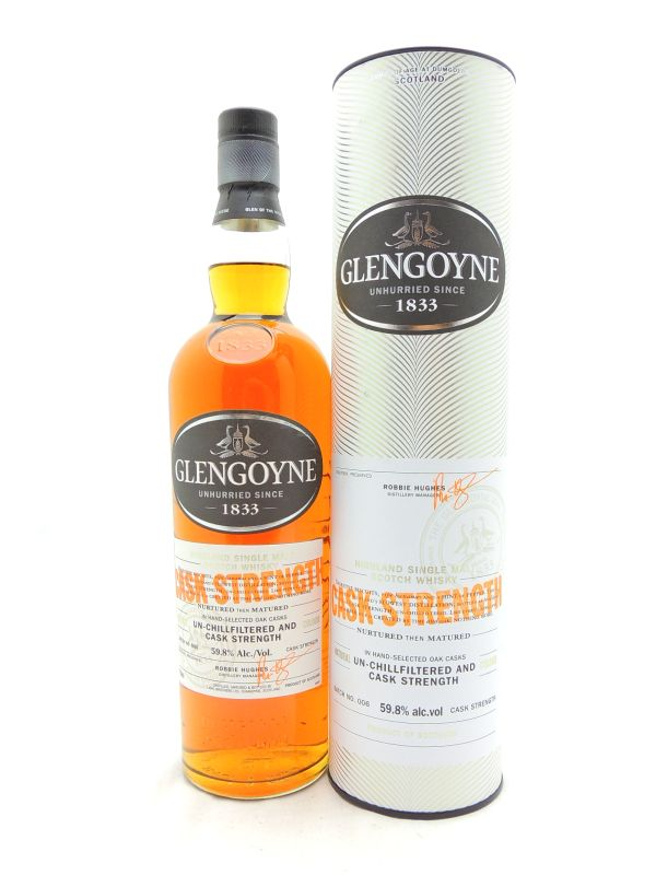 Glengoyne Cask Strength Scotch
