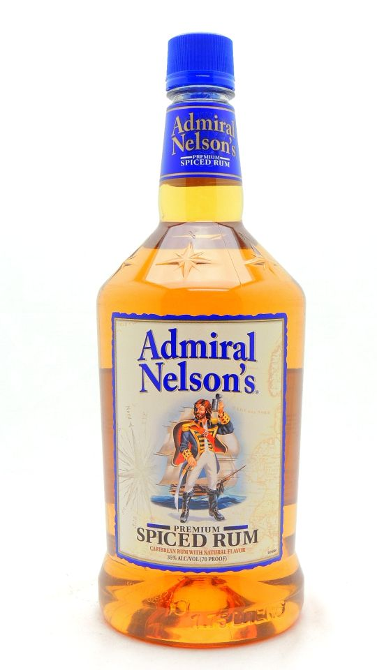 Admiral Nelson's Spiced Rum Half Gallon