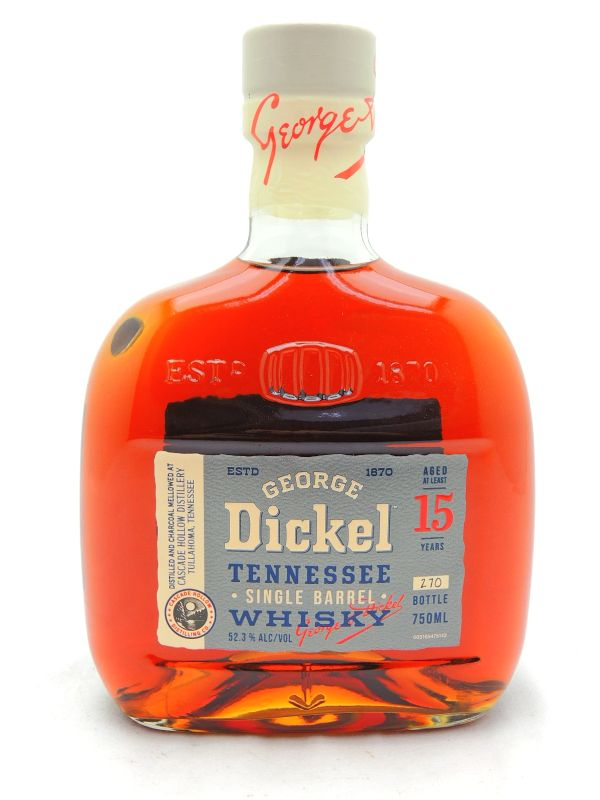 George Dickel 15 Year Old Single Barrel Whiskey