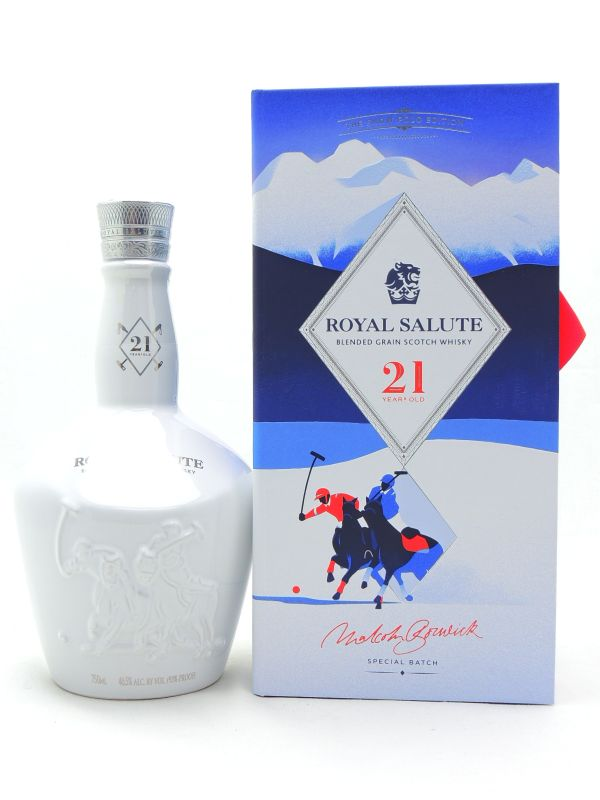 Royal Salute 21 Year Old Snow Polo Edition