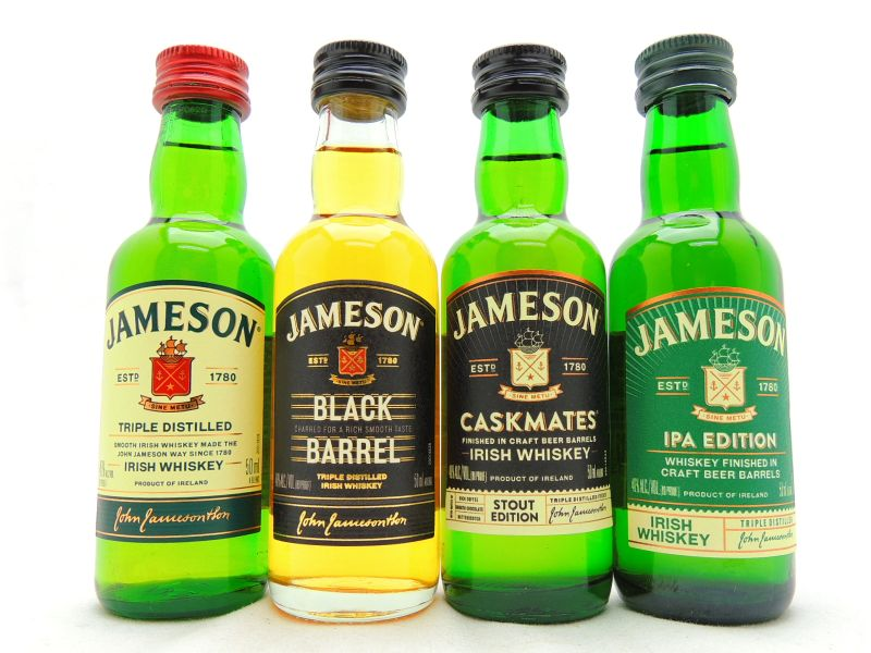 Jameson Miniature Whiskey Collection