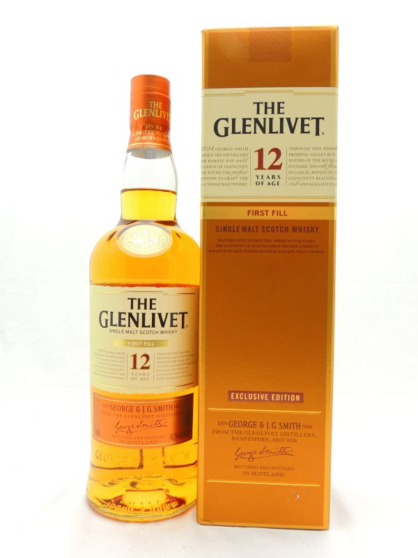 Glenlivet 12 Year First Fill Scotch