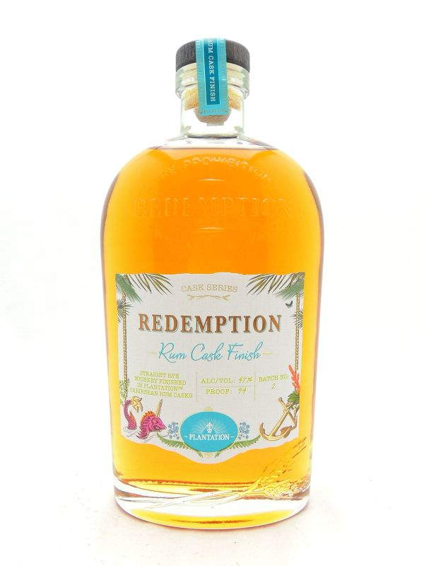 Redemption Rum Cask Rye Whiskey