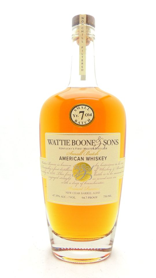 Wattie Boone and Sons Whiskey