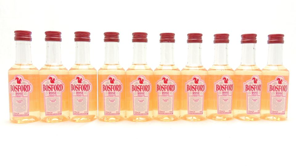 Bosford Rose Gin Miniatures