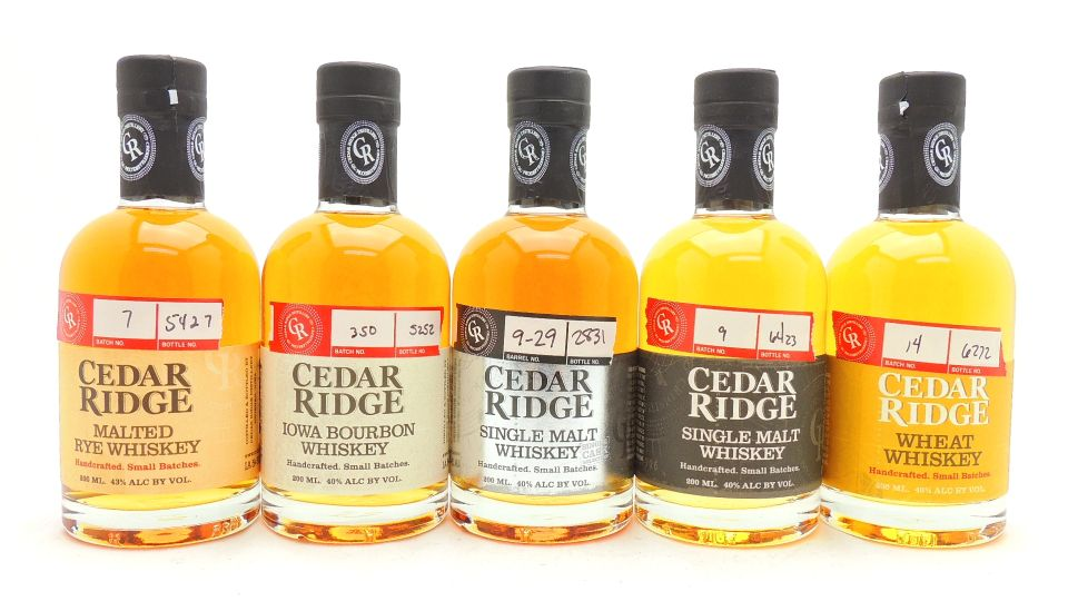 Cedar Ridge Whiskey Collection