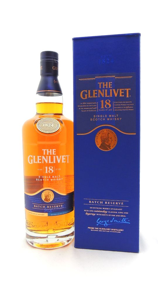 Glenlivet 18 Year Batch Reserve Scotch