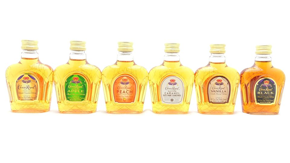 Crown Royal Miniature Whiskey Collection 6 x 50ML