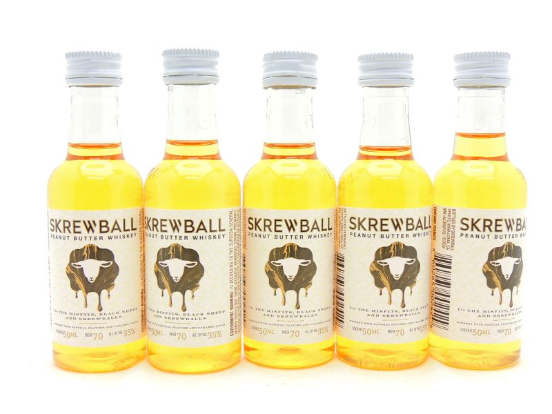 Skrewball Peanut Butter Whiskey Miniature Gift Set