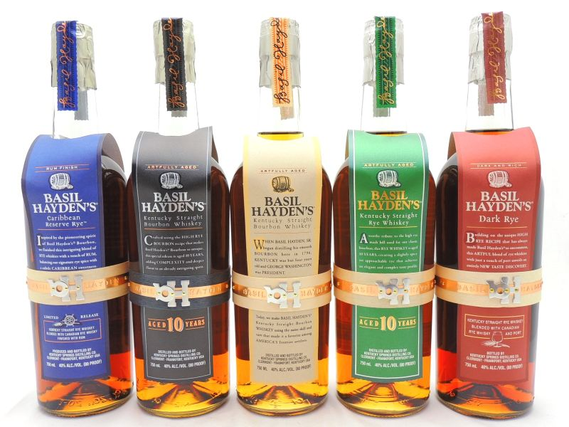 Basil Haydens Whiskey Collection