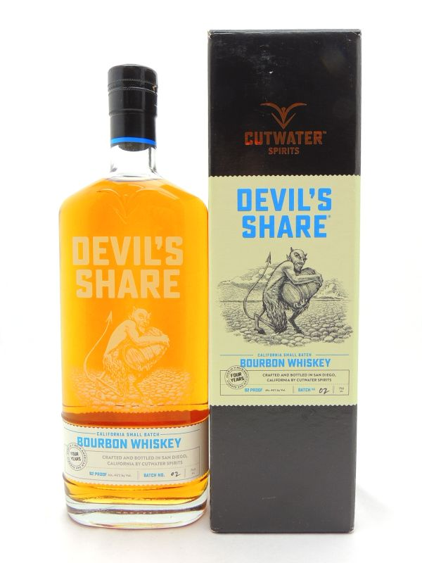 Devils Share Bourbon Whiskey