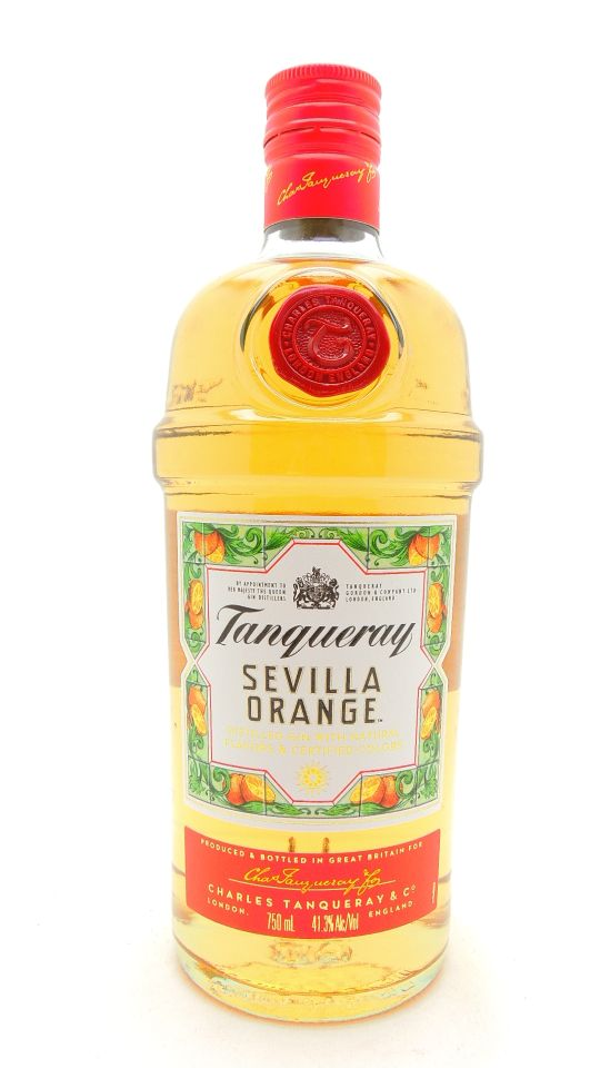 Tanqueray Sevilla Orange Gin