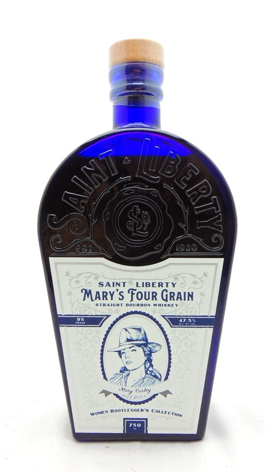 Saint Liberty Mary's Four Grain Bourbon