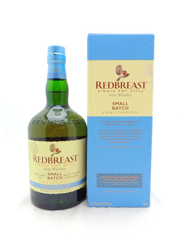 Redbreast Small Batch Cask Strength Irish Whiskey