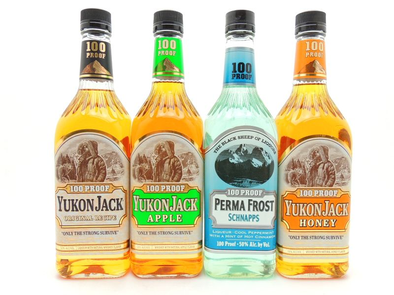 Yukon Jack Whiskey Collection