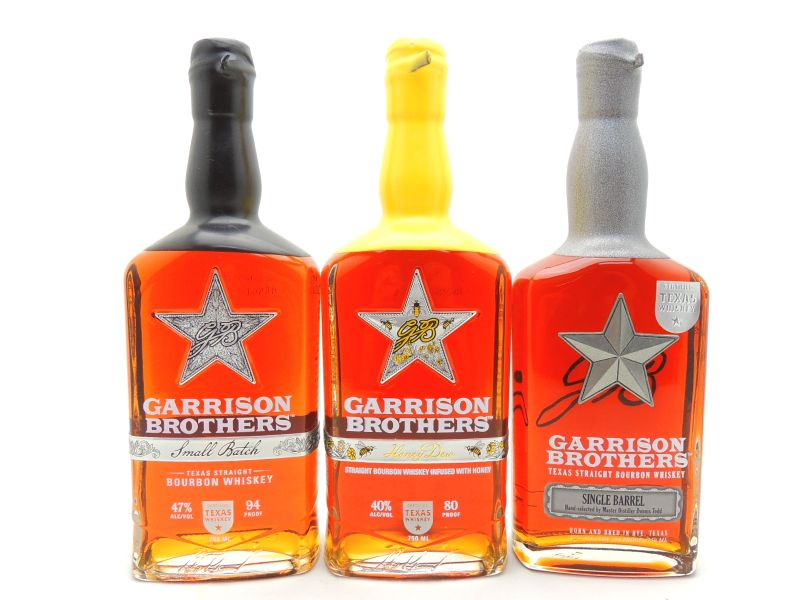 Garrison Brothers Bourbon Whiskey Collection