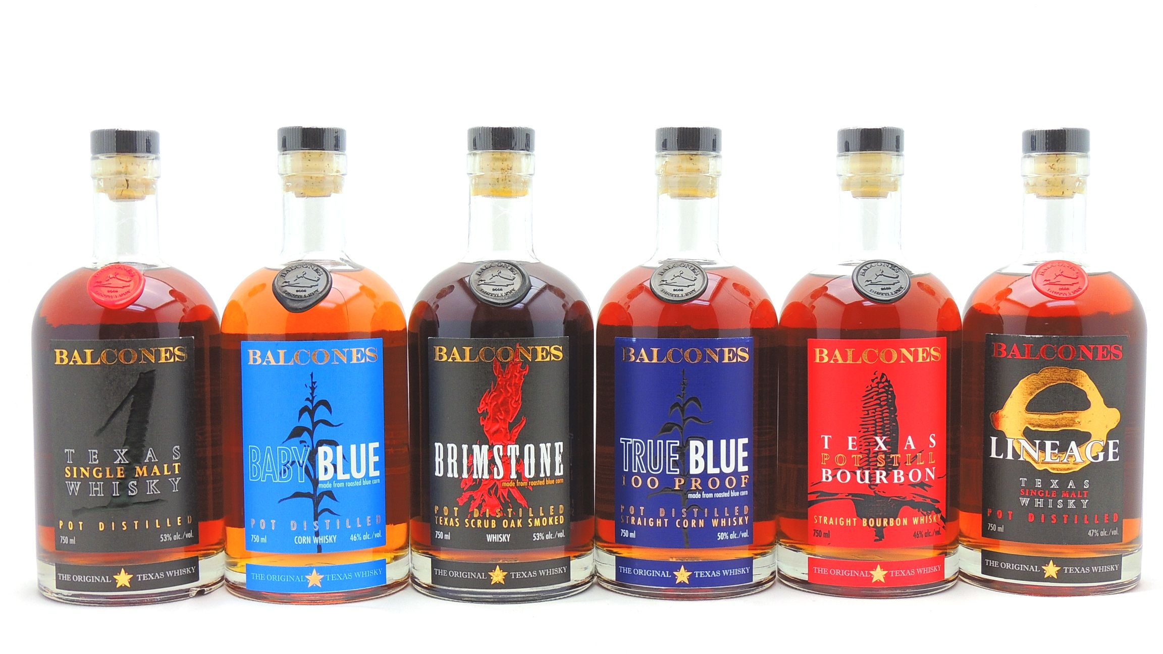 Balcones Bourbon Whiskey Collection