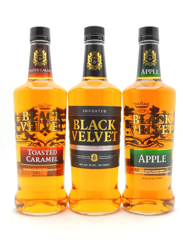 Black Velvet Whiskey Collection