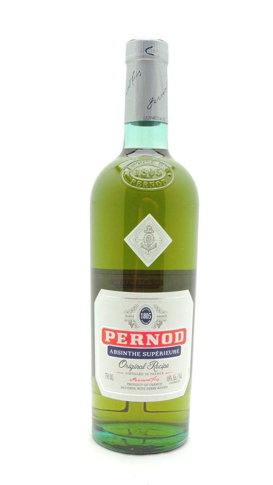 Pernod Absinthe 136 Proof