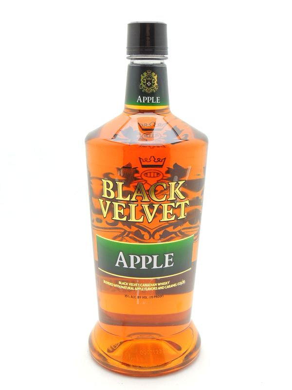 Black Velvet Apple Whiskey Half Gallon