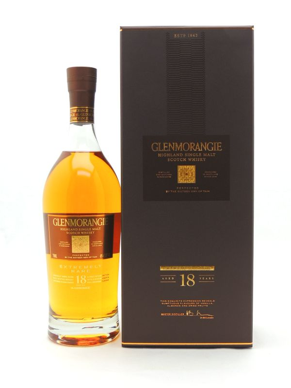 Glenmorangie 18 Year Old Extremely Rare Scotch