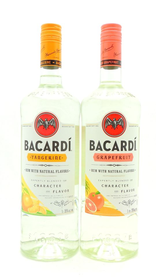 Bacardi Tropical Rum Collection