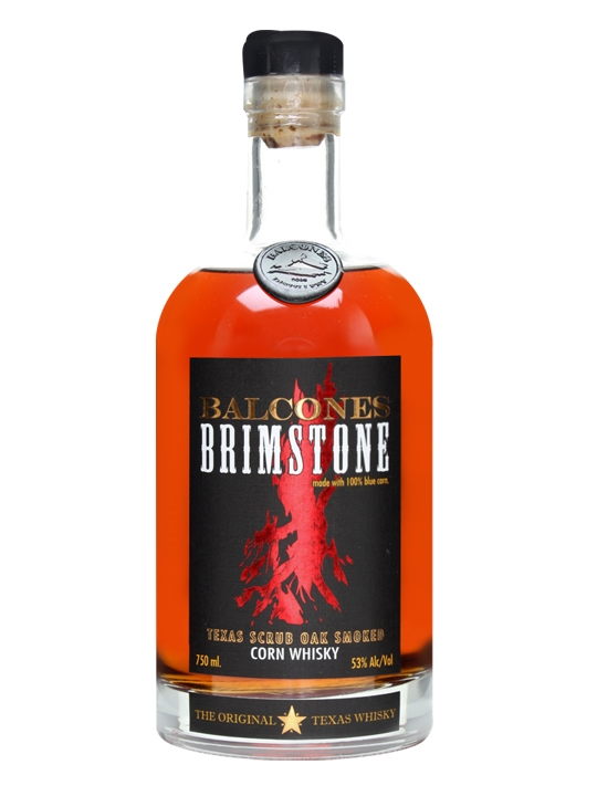 Balcones Brimstone Smoked Whiskey