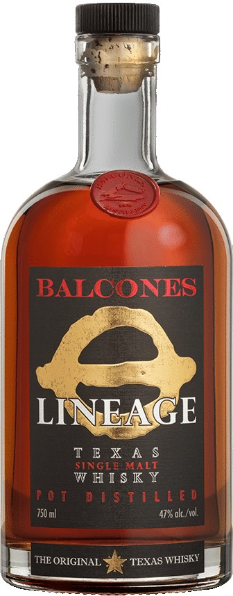 Balcones Lineage Texas Single Malt Whiskey