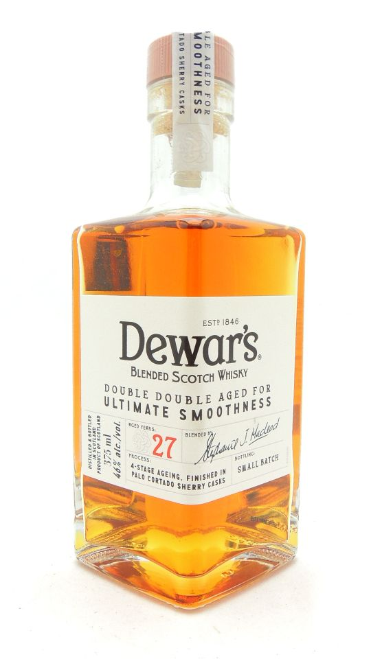 Dewar's 27 Year Old Double Aged Scotch