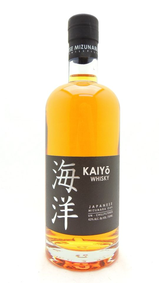 Kaiyo Mizunara Oak Japanese Whiskey