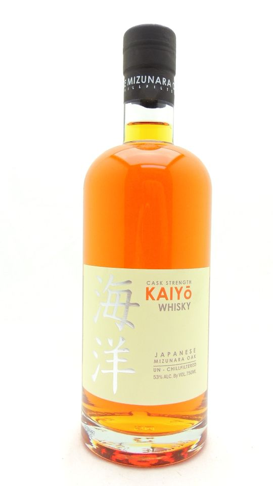 Kaiyo Cask Strength Whiskey Mizunara Oak Japanese
