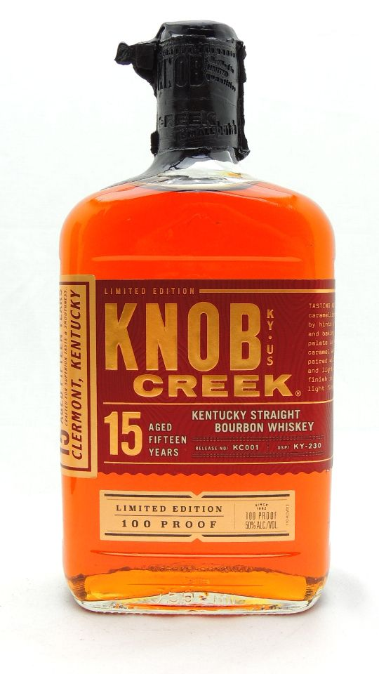 Knob Creek 15 Year Old Bourbon Whiskey Limited Edition