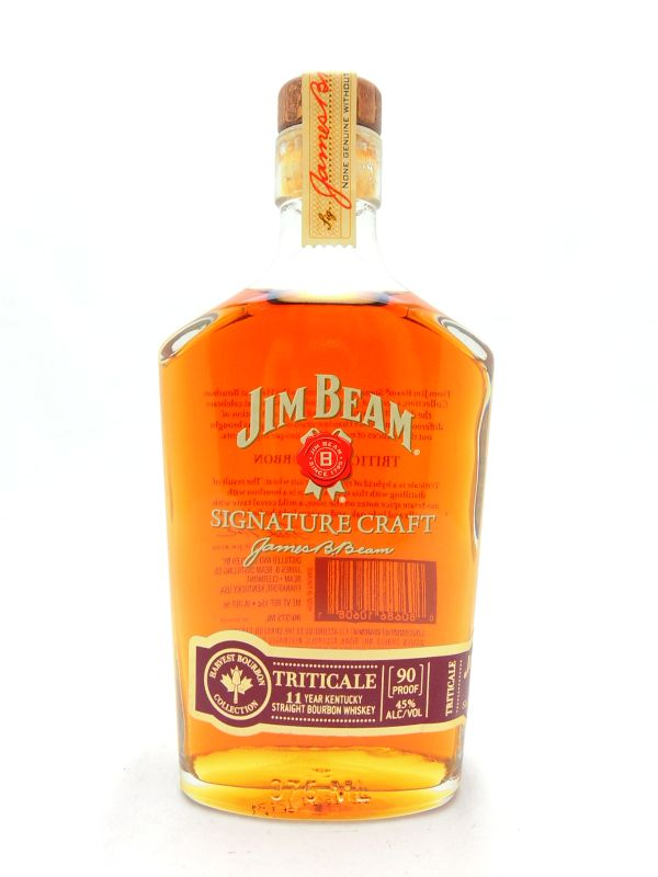 Jim Beam Signature Craft Triticale 11 Year Old Bourbon