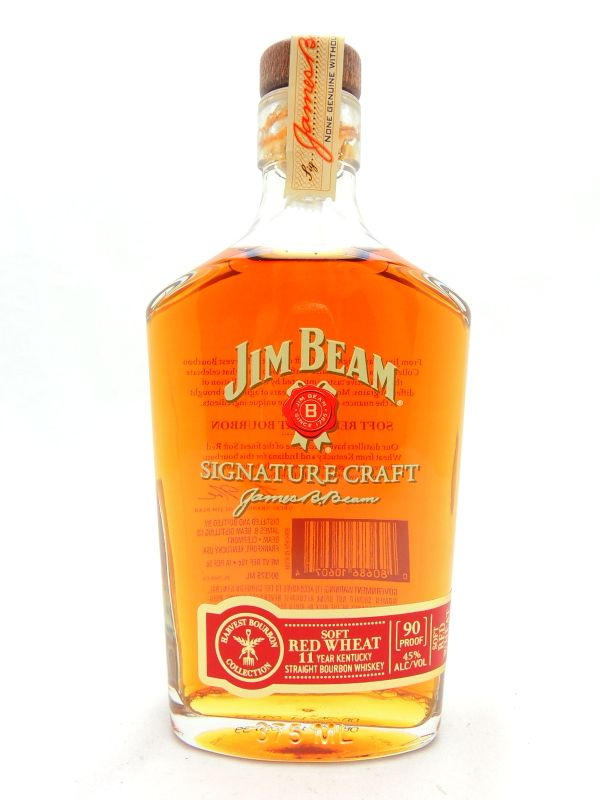 Jim Beam Signature Craft Soft Red Wheat 11 Year Old Bourbon