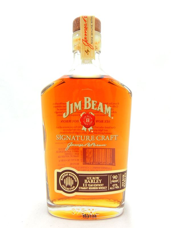 Jim Beam Signature Craft Six Row Barley 11 Year Old Bourbon