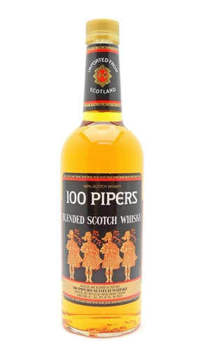 100 Pipers Scotch Whisky