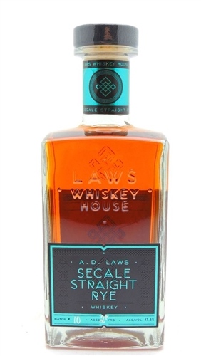 AD Laws Secale Rye Whiskey