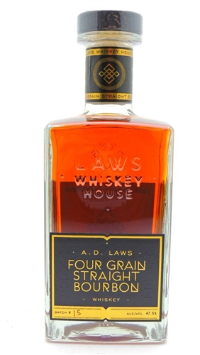 AD Laws Four Grain Bourbon Whiskey