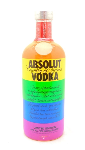 Absolut Colors Vodka