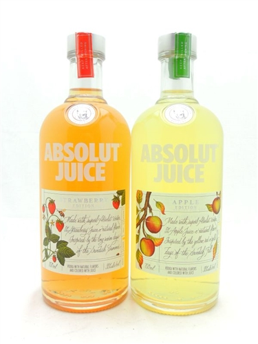 Absolut Juice Vodka Collection