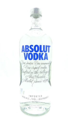 Absolut Vodka Half Gallon