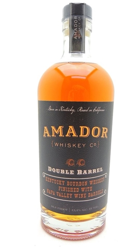 Amador Double Barrel Bourbon Whiskey