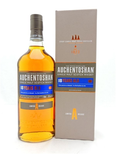 Auchentoshan 18 Year Old Scotch